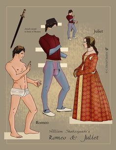 Romeo-and-Juliet-Paper-Dolls