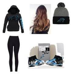 """""""Super Bowl (if voting for panthers)"""" by monkeyis1 on Polyvore featuring women's clothing, women, female, woman, misses and juniors"""
