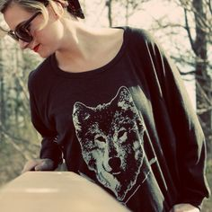 even better! Handmade Gifts   Independent Design   Vintage Goods Spirit of the Wolf Pullover Top - Best Sellers