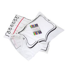 Doodle Pillowcase, $18, now featured on Fab.