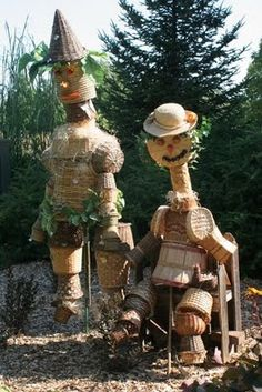 Scarecrows on Parade at the Minnesota Landscape Arboretum