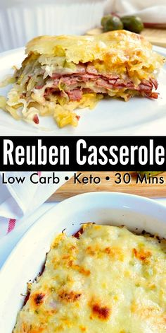 Low Carb Reuben Casserole - Classic reuben taste baked into an easy low carb casserole! Low Carb Reuben Casserole - Classic reuben taste baked into an easy low carb casserole! Beef Recipes, Cooking Recipes, Healthy Recipes, Cooking Tips, Soup Recipes, Healthy Food, Kraft Recipes, Cooking Food, Vegetable Recipes