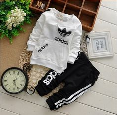 Free shipping! 2015 new winter children cotton long-sleeved track suit two.clothing set Children set baby set