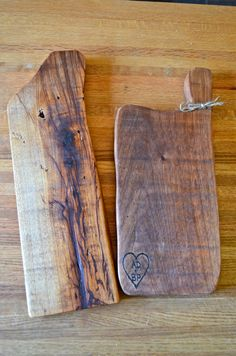Rustic Charcuterie of natural wood Cheese board, bread Cutting . Kitchen foodie french gourmet farmhouse chopping serving butchers block #EasyNip