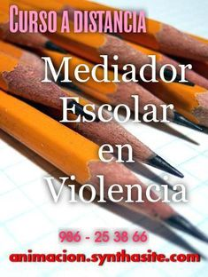 curso mediador escolar en violencia - bullying