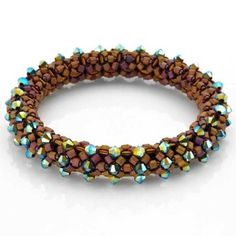 seed bead necklace patterns for beginners Seed Bead Bracelets Tutorials, Beaded Bracelets Tutorial, Beading Tutorials, Beading Patterns, Beads Tutorial, Beaded Necklace Patterns, Beaded Jewelry, Seed Bead Necklace, Seed Beads