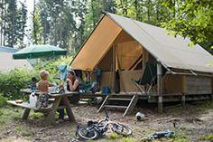 Huttopia - Location de tentes canadiennes