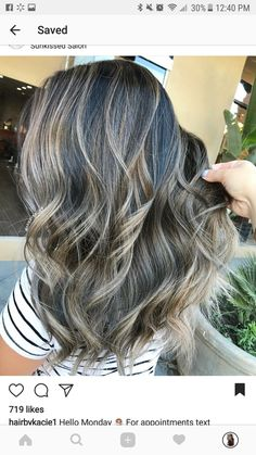 Balayage Hair Color Ideas for Brunettes Bronde Hair, Hair Color Balayage, Hair Highlights, Ombre Hair, Love Hair, Great Hair, Gorgeous Hair Color, Hair Color And Cut, Hair Dos