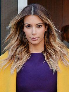 kim kardashian hair 2014 - Google Search