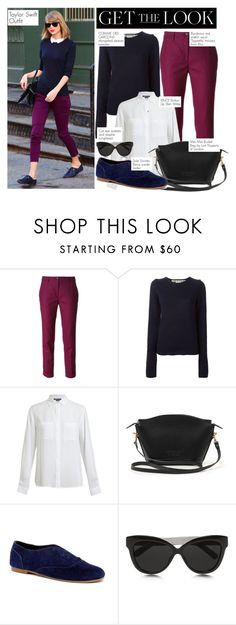 """""""Get the look: Taylor Swift"""" by lali22 ❤ liked on Polyvore featuring Etro, Comme des Garçons, Vince, Lost Property of London, Sole Society, Linda Farrow, GetTheLook, StreetStyle, taylorswift and CelebrityStyle"""