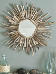 The Wicker House: How to make a Driftwood Mirror (Part 2)