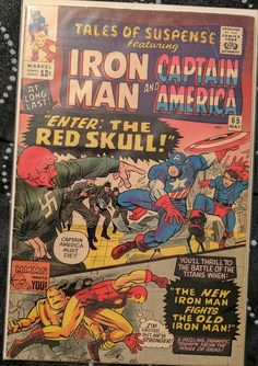 Red Skull Captain America, The Ind, Tales Of Suspense, New Man, Marvel
