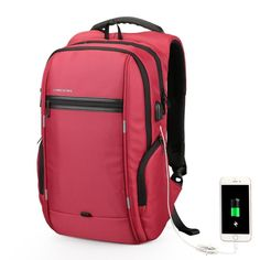 Brand 15.6   Men Laptop Backpack External USB Charge Anti-theft Computer  Backpacks Male 4488e57c9d519