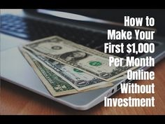 How to make your first $1000 per month online without investment. Go to http://ift.tt/2iiT3vQ for video notes related content and helpful resources mentioned.  Let's Connect! Twitter - https://twitter.com/MrJustinBryant  Facebook - http://ift.tt/1LQomnx  Google - http://ift.tt/1PaQTrN  In this video I will show you how to make your first $1000 per month online without any kind of investment. In 6 simple steps you will see what it takes to create a business on the internet that can actually…