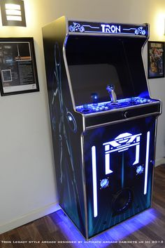 Tron Legacy Style Arcade Machine - Designed by Ultimate Arcade Cabinets