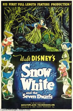 Snow White and the Seven Dwarfs (1937) Living with seven dudes might not be as bad as it sounds.
