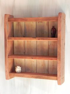 Small reclaimed walnut shelf by williswoodworking on Etsy, $65.00