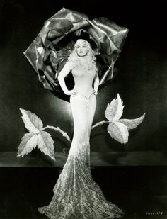 The most incredible woman photographed. Mae West