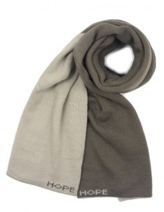 Reversible Solid Dual Color Acrylic Long Scarf