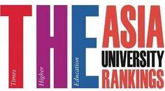 Nuevo Ranking Mundial 2014 de las Mejores Universidades de Asia.