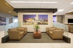 Service Area Waiting Room at Performance CJDR Dealership Bellevue, Nebraska http://www.kurtjohnsonphotography.com/