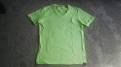 Tom Tailor V Neck T Shirt Urban Fashion Wear Men Shirt Green Size XL Tshirt | eBay
