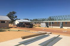 New metal roof installed Perth wide. Roofing Services, Roofing Contractors, Industrial Roofing, Commercial Roofing, Residential Roofing, Perth Western Australia, House Roof, Metal Roof, Mansions