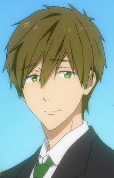 "This is from the anime ""Free!"" The boy in the picture is Makoto Tachibana."