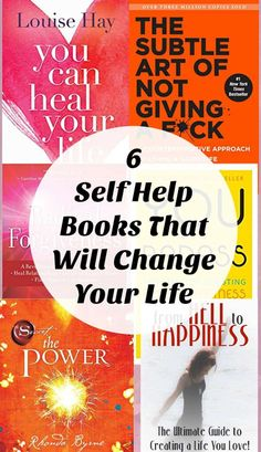 6 of the Best Self Help Books That Will Totally Change Your Life - - 6 of the best Self Help Books. These, in my opinion, are just a few of the best personal development books you will ever need to read to change your life. Best Self Help Books, Best Books To Read, Good Books, Self Love Books, Free Books, Motivational Books, Inspirational Books, Self Esteem Books, Healing Books