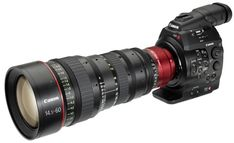 Canon C300 Cinema Camera: Canon prepares to take on Red Scarlet and (to a lesser extent) Arri Alexa. $20,000