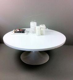 witte ronde salontafel - denegenleukste.nl - 35€
