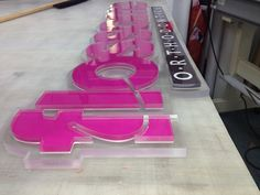 Precision CNC routed signs wholesale Sign center base in Miami Florida servicing the entire country