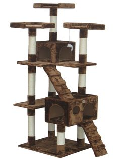 ♥ Cool Cat Trees ♥  Go Pet Club Cat Tree Reviews. This HIGH LOFT our all time best selling cat tower. It comes in several colors. This is sturdy inexpensive cat furniture shipped right to your door. FREE SHIPPING!