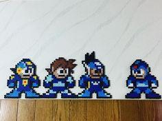 Mega Man perler beads by beadsman0208