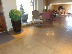cement floors tucson