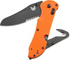 Benchmade 915 Triage SBK-ORG Knife - Free Shipping at REI.com