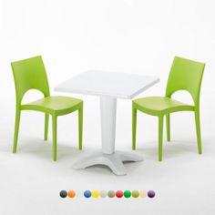 Tavolino-Quadrato-Bianco-con-2-Sedie-Polipropilene-Bar-Esterni-Grand-Soleil