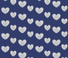 hearts_within_hearts fabric by shy_bunny on Spoonflower - custom fabric