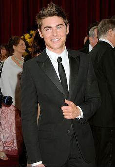 Zac Efron 2010 Oscars, Academy Awards #celebrities #celebrityfashion #redcarpet