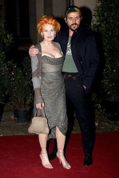 Vivienne Westwood and husband Andreas Kronthaler.