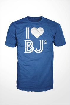 I Heart BJs TShirt  funny toronto blue jays tee shirt by GetSnacks, $16.99