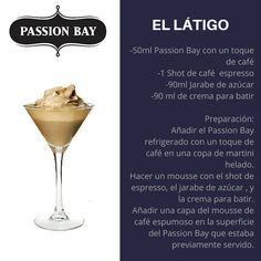 Probá el delicioso Passion Bay! #PassionBay #Coctel #Cocktail #Latigo