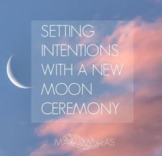 A New Moon Ceremony is the perfect way to set your intentions and connect with the cycles of nature. We love to have a quick New Moon Ceremony every month as a