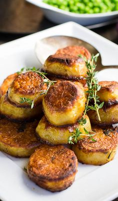 Melting Potatoes- crispy on the outside and creamy on the inside.