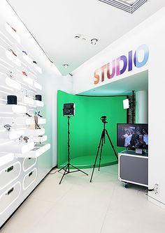 Nokia Helsinki Flagship Store #retail #design #interactiveexperience