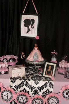Vintage Barbie Themed Birthday