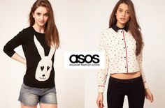 Explore the best online sites like Asos and shop fashion at affordable prices. Excellent stores like Asos worth discovering - browse them now! Asos, Topshop, Code Promo, Adidas Jacket, Fashion Online, Graphic Sweatshirt, T Shirts For Women, Blazer, Sweatshirts