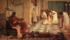 Pełny obraz 340px-John William Waterhouse - Ulubione cesarz Honorius - 1883.jpg