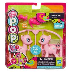 My Little Pony POP out to build Pinkie Pie POP Starter Kit New/Sealed!! Fun to Design your Pony!! Will ship fast! More POP pony starter kits available Pinkie Is Fluttershy Rainbow Dash