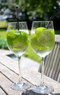"""cocktail """"Hugo"""": dé perfecte coctail voor een  zalige lente/zomerdag!"""